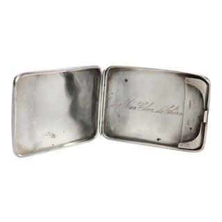 Antique Sterling Match Safe