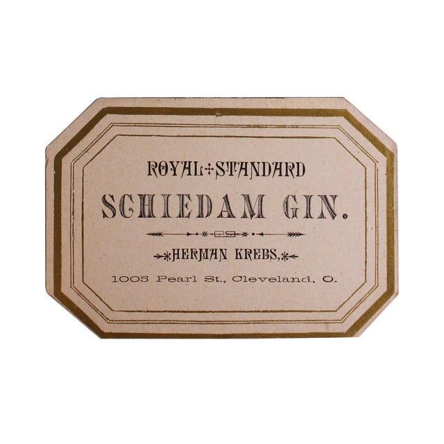 Image of Collection of Original Alcohol Labels - Set of 3