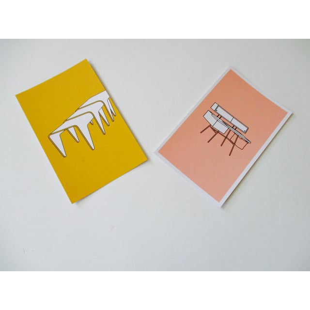Image of Mid-Century Modern Chair Postcards & Other Iconic Products - Set of 15
