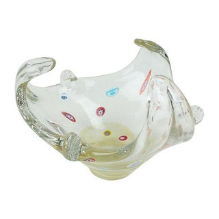 Vintage Murano Clear Catchall