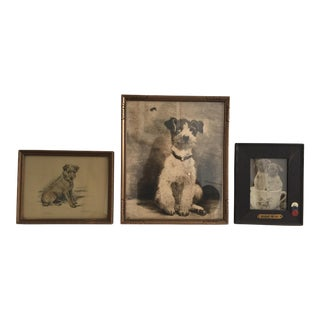Vintage Dog Prints - Set of 3