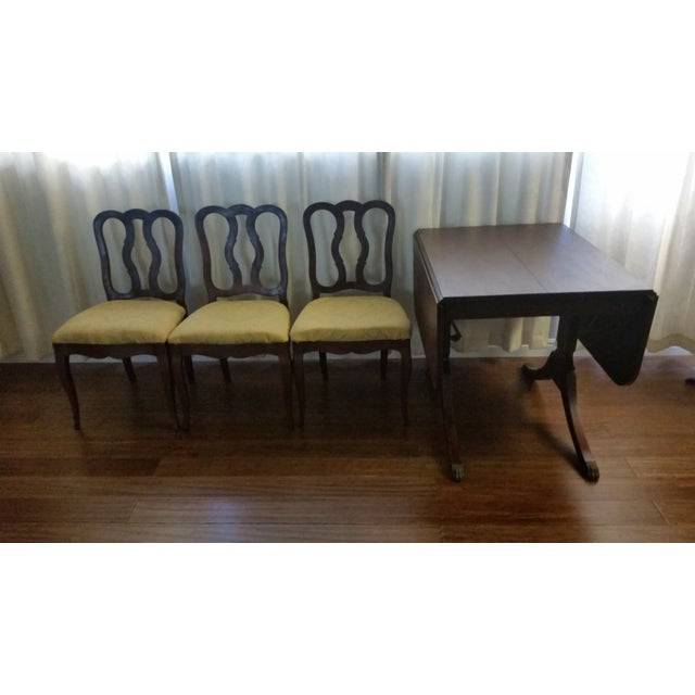 Duncan Phyfe Style Craddock Dining Set Chairish