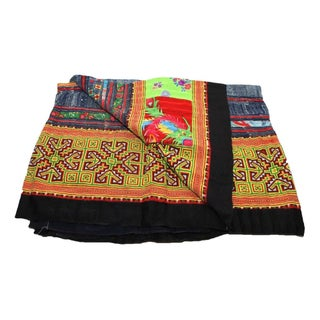 Vibrant & Bold Hmong Blanket
