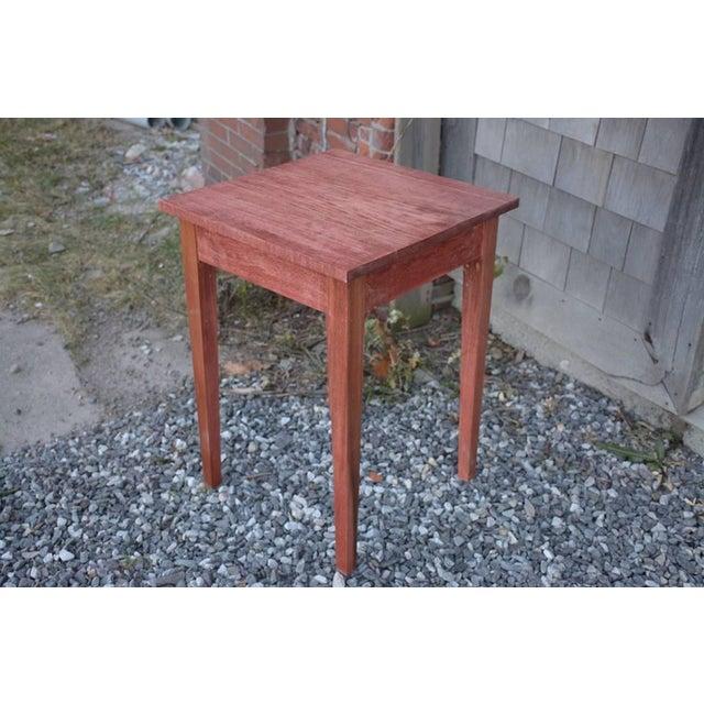 Image of Shaker Sedona Poplar Side Table