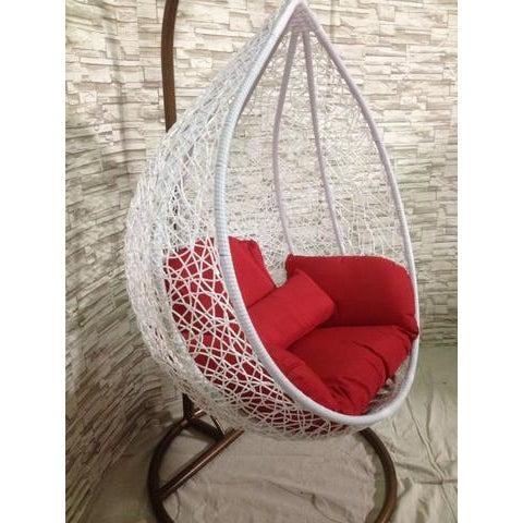 Single Wide Tear Drop Swing Chair - Image 3 of 7