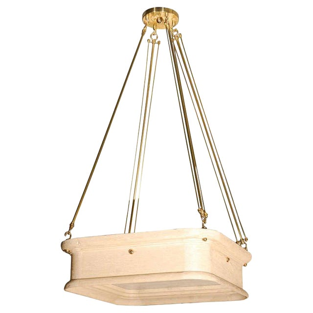 Paul Marra Boch Chandelier in Distressed Natural - Image 1 of 9