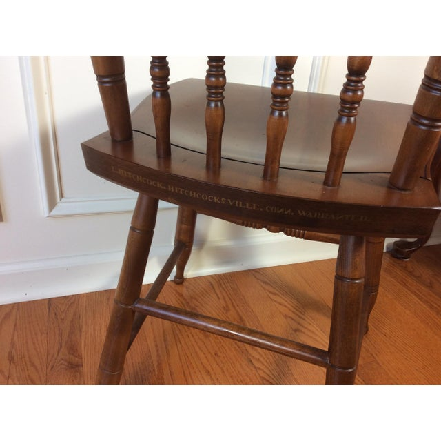 Vintage Hitchcock Inn Chair - Image 7 of 8