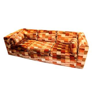Mid-Century Milo Baughman Style Sofa