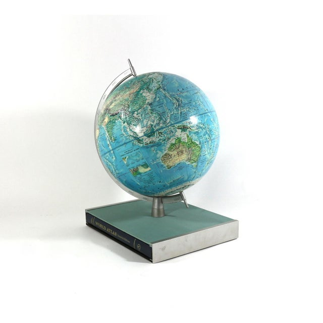 1960s Rand McNally New World Portrait Globe Set - Image 3 of 7