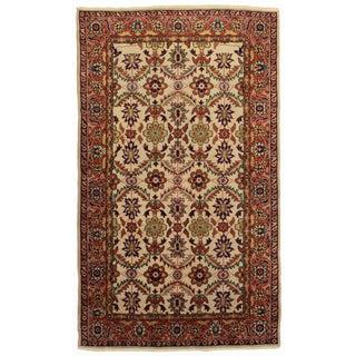 RugsinDallas Antique Hand Knotted Wool Turkish Sivas Rug - 5′2″ × 8′7″