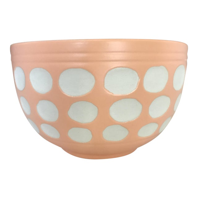 Peach Dot Bowl - Image 1 of 6