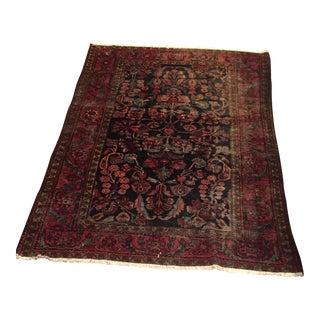 "Vintage Persian Hamadan Sarouk - 6'8"" x 5'1"""
