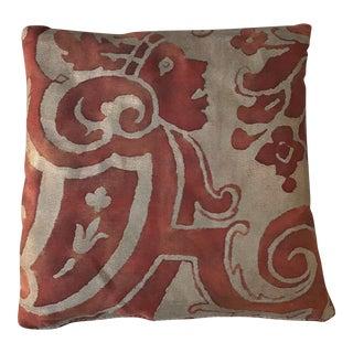 Red & Gold Fortuny Lavender Sachet