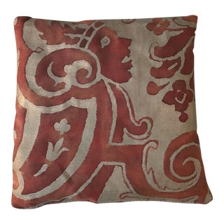 Red & Gold Fortuny Lavender Sachet