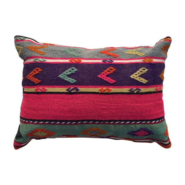 Vintage Kilim Pillow Cover - Image 1 of 6