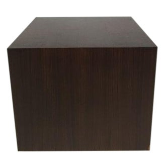Vintage Milo Baughman Style Cube Table