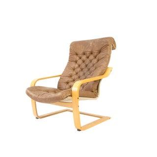 1970s Original Noburu Nakamura for Ikea Poem Chair