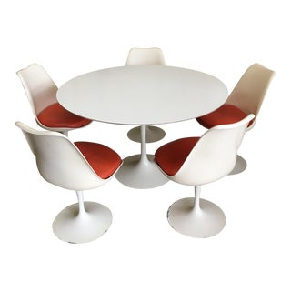Original Knoll Saarinen Tulip Dining Set