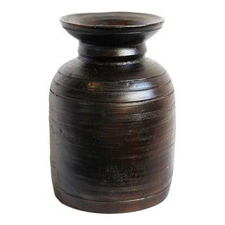 Nepali Wood Pot