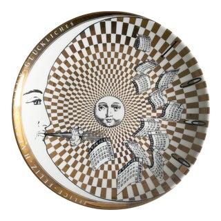 Barnaba Fornasetti Calendar Plate for 1999