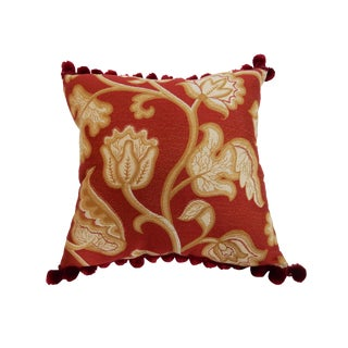 Custom Made Jacquard & Silk Pillow
