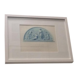 "Antique Collector's ""Spring & Autumn"" Engraving"