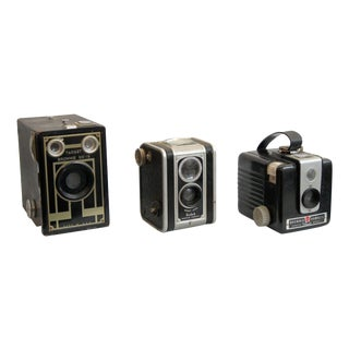 Decorative Vintage Kodak BrownieCameras - Set of 3