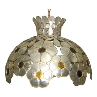 Capiz Shell Lighting Fixture