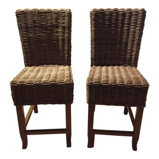Restoration Hardware Counter Stools - A Pair