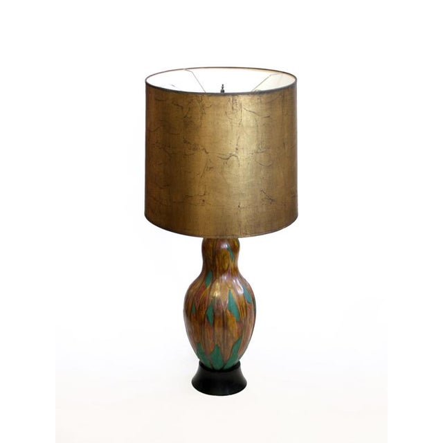 Ceramic Gourd Shaped Lamp - Image 2 of 6