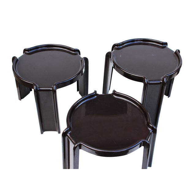 Giotto Stoppino Stacking Tables - Set of 3 - Image 4 of 7