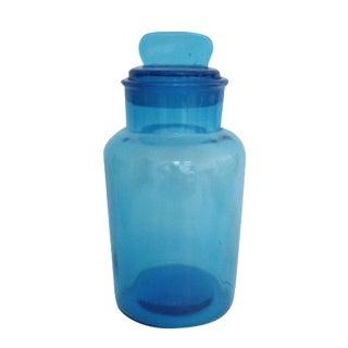 Azure Blue Apothecary Jar