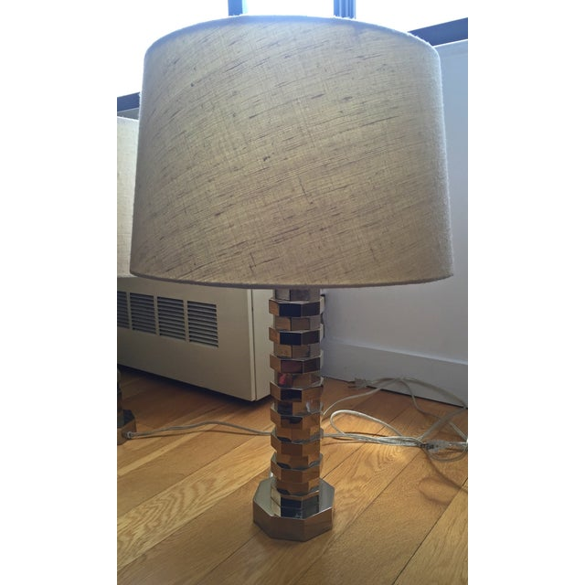Vaughan Table Lamps & Shades - A Pair - Image 2 of 4