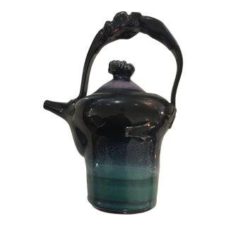 Vintage Art Pottery Teapot