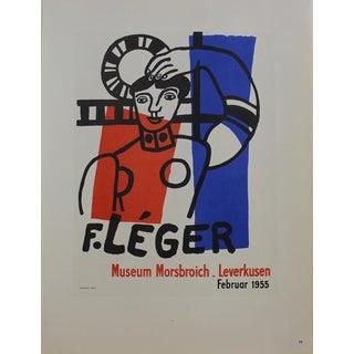 1959 Fernand Léger Exhibition Poster