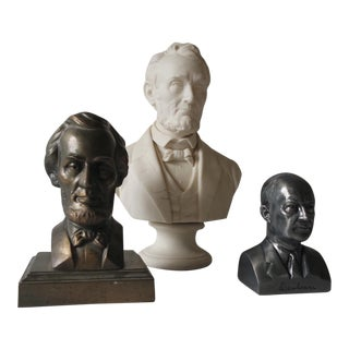 Instant Collection of Presidential Busts - Set of 3