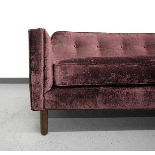 Image of Edward Wormley for Dunbar Sofa in Plum