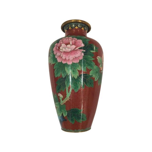 Cloisonné Vase - Image 1 of 9