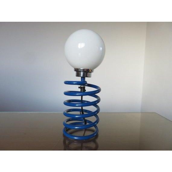 Ingo Maurer Royal Blue Spring Lamp - Image 2 of 3