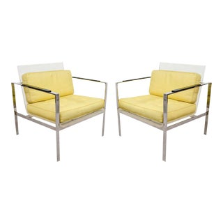 Laverne Lucite Chairs - a Pair