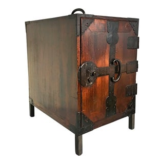 Japanese Meiji Period Ship Chest, Fune Tansu, dated 1883
