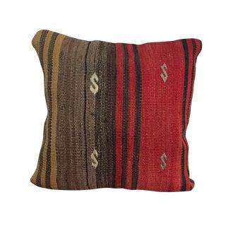 Vintage Kilim Anatolian Throw Pillow