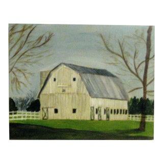 Bennett Point Barn Painting