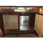 Image of Gray Marble Top Credenza