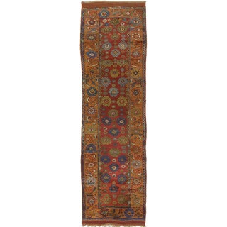 "Antique Koniah Anatolian Runner - 12'2"" x 3'6"""