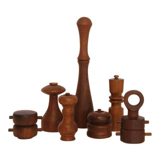 Stylish Collection of Danish Pepper Mills by Quistgaard
