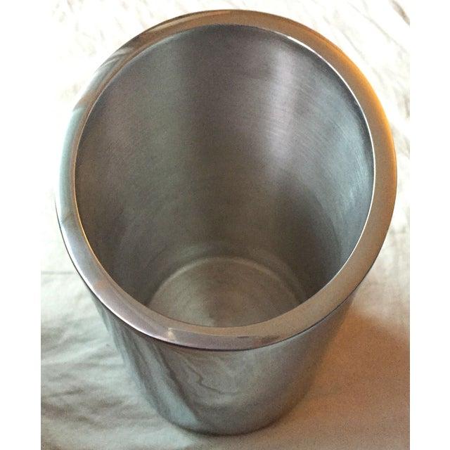 Silver Tilted Wine Chiller - Image 2 of 5