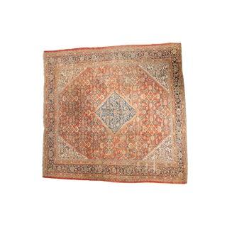 """Antique Mahal Square Carpet - 9'11"""" x 9'8"""""""