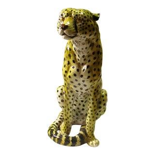 Italian Ceramic Full Size Cheetah