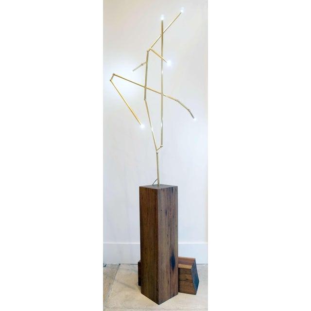 Untitled Lit Sculpture - Image 3 of 6